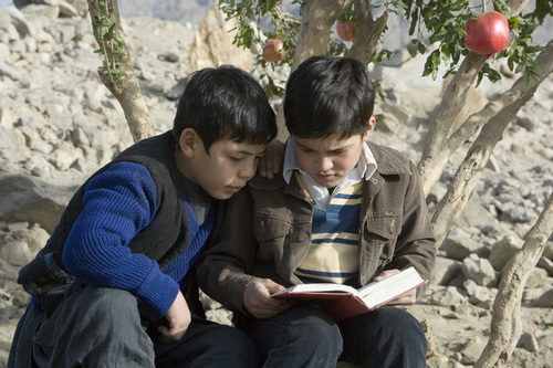 Book to Screen Adaptations Hintergrund titled The drachen, kite Runner
