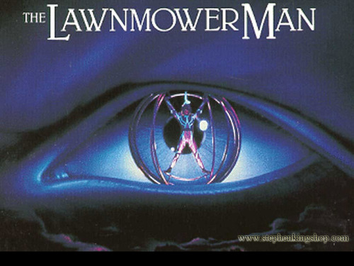 Stephen King wallpaper called The Lawnmower Man