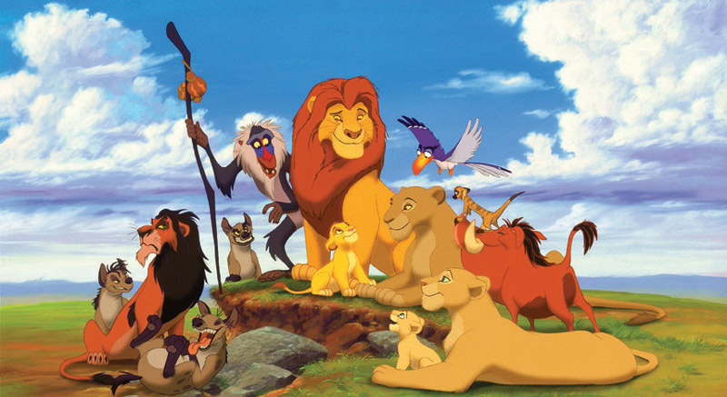 the 90s - lion king  1994