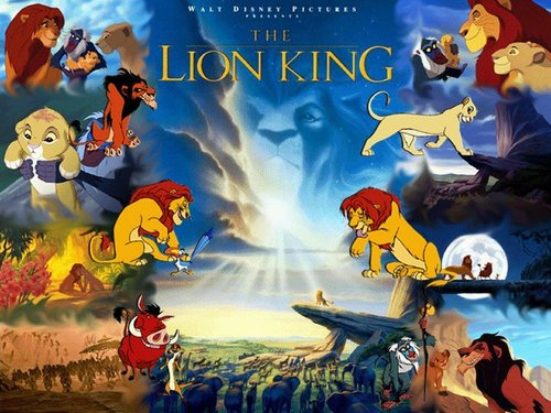 The Lion King kertas dinding titled The Lion King