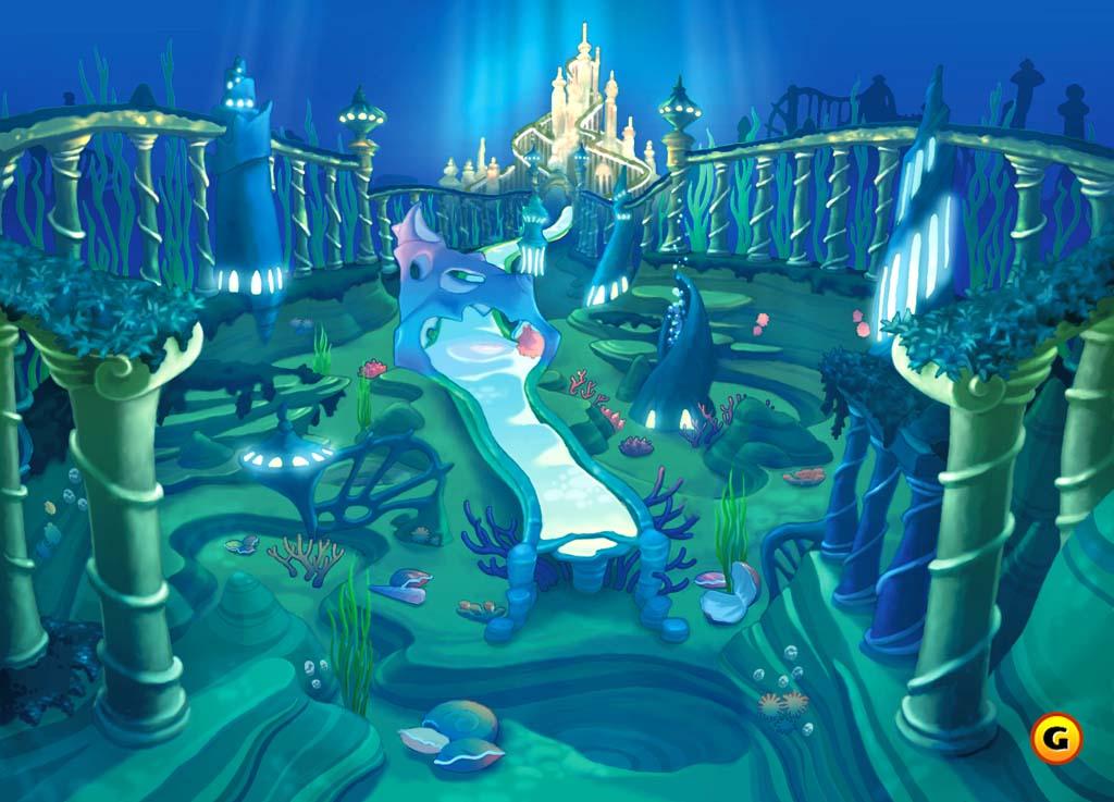 The Little Mermaid-Kingdom OH