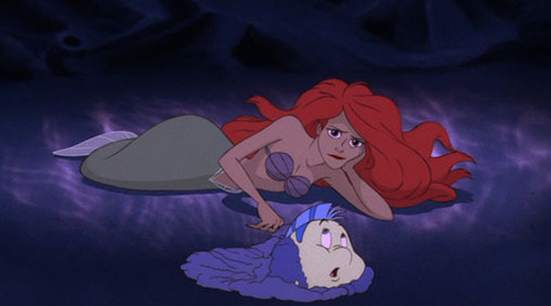 Walt Disney Screencaps - Princess Ariel & Flounder
