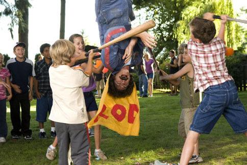 Rod Kimble, Human Piñata