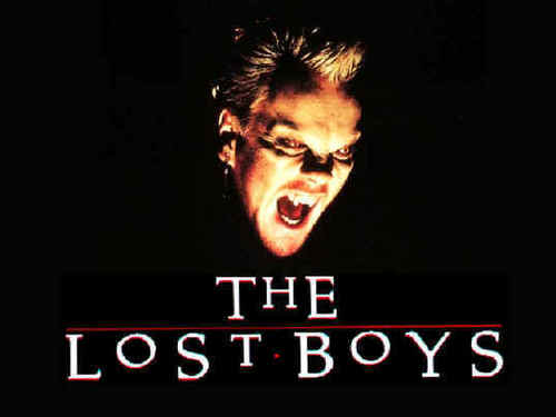 The Lost Boys Movie fond d'écran entitled David Logo