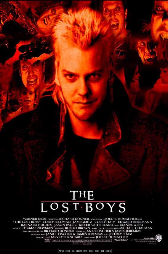 The लॉस्ट Boys Poster