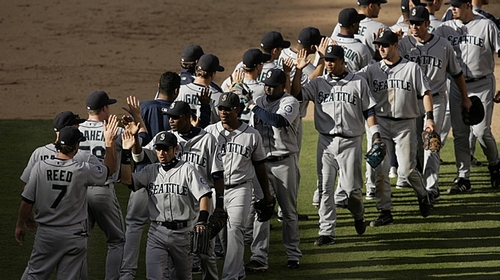 The Mariners, Sept 2007 - seattle-mariners Photo