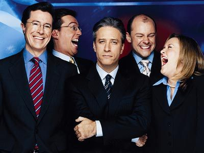 The Middle (Wo)Men - the-daily-show Photo