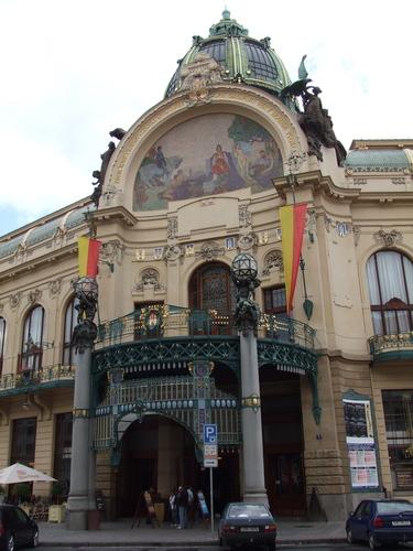 The Municipal Building, Prague