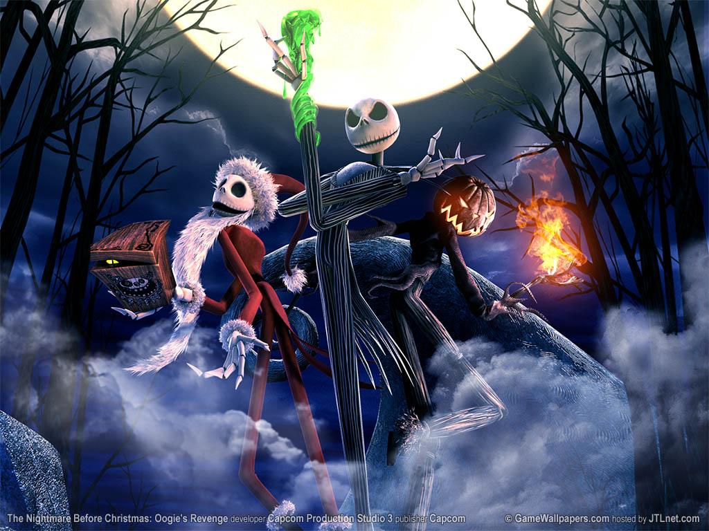 The Nightmare Before Christmas - Nightmare Before Christmas Wallpaper ...