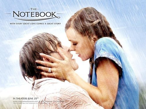 The Notebook karatasi la kupamba ukuta called The Notebook