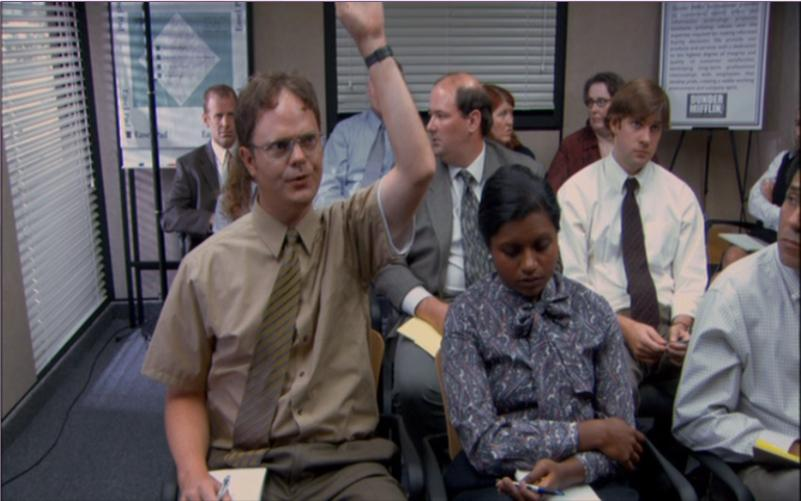 The Office- Diversity Day