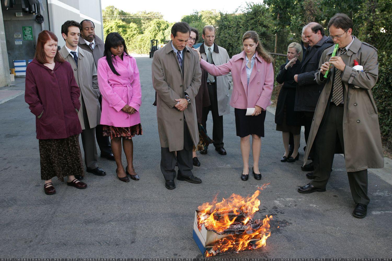The Office Bird Funeral