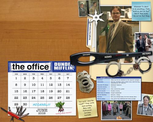 The Office Calendar achtergrond