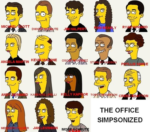 The Office Simpsonized