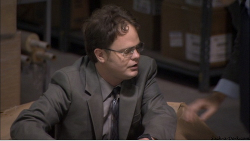 Rainn Wilson wallpaper entitled The Office