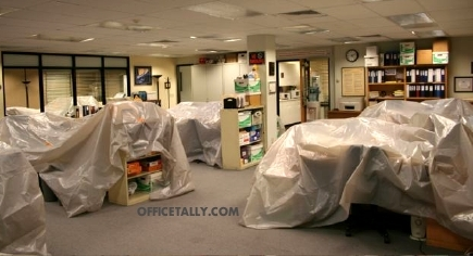 The Office set
