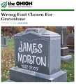 The Onion - Grave Mistake