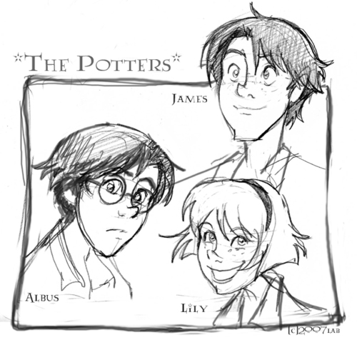 The Potter Kids