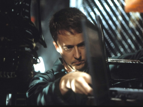 Edward Norton Обои entitled The Score