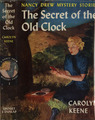 The Secret of the Old Clock - nancy-drew photo