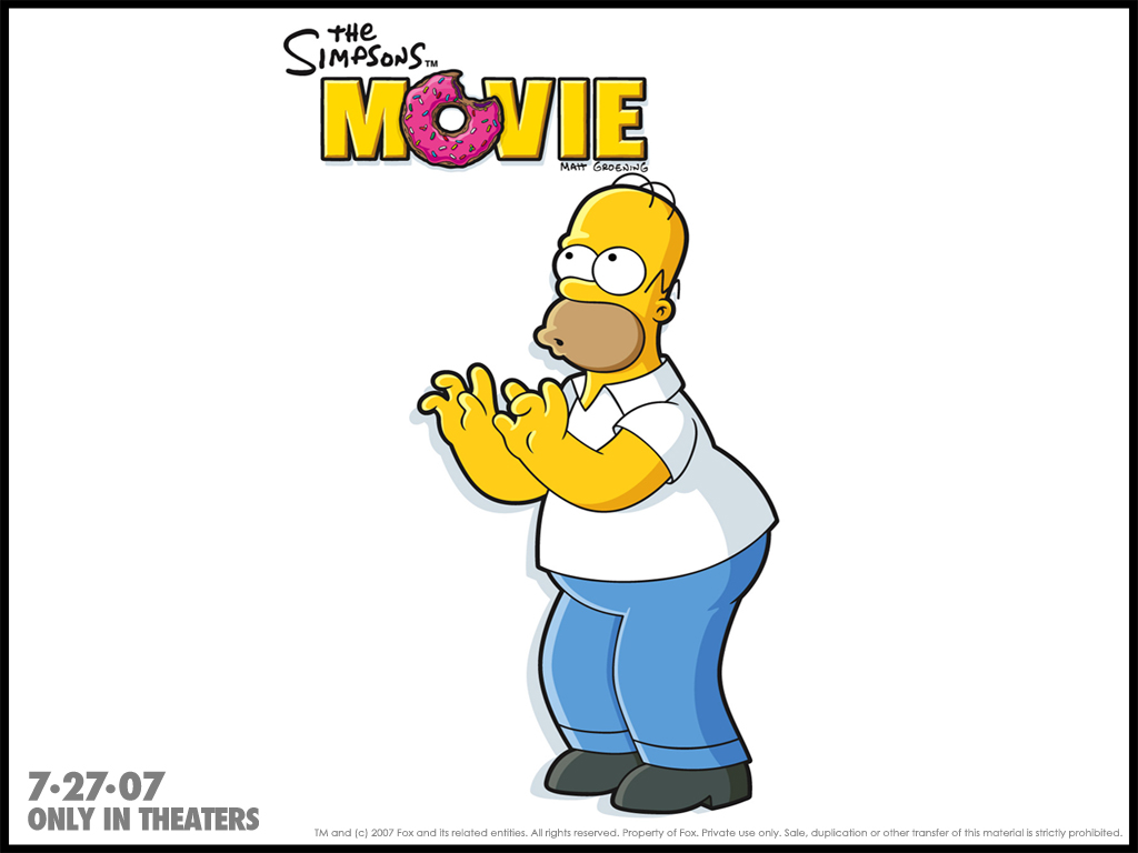 the simpsons movie the simpsons movie wallpaper 105937