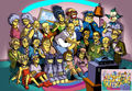 The Simpsons magna - the-simpsons fan art