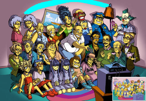 The Simpsons magna