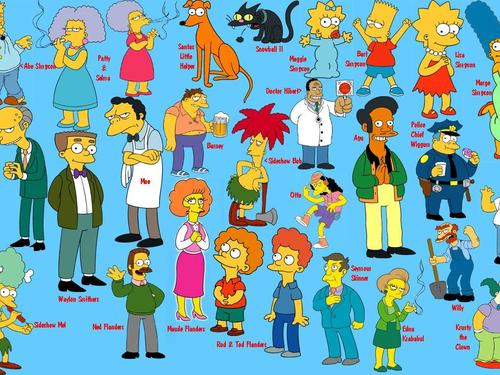 os simpsons wallpaper called The Simpsons