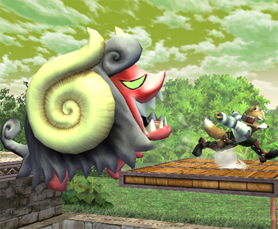 Super Smash Bros. Brawl karatasi la kupamba ukuta entitled The Subspace Emissary