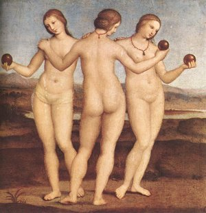 The Three Graces - greek-mythology Photo
