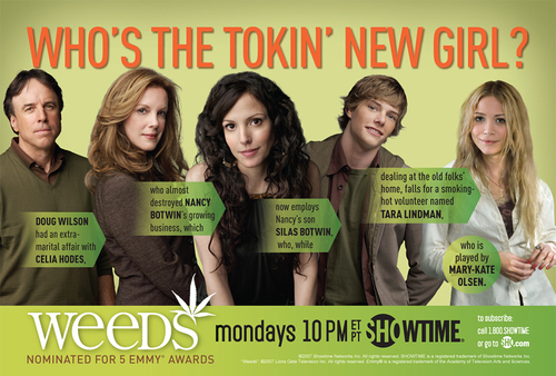 Weeds wallpaper titled The Tokin' New Girl