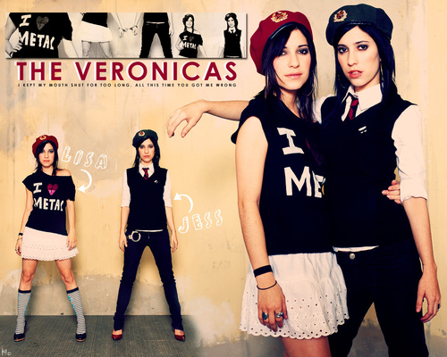 The Veronicas wallpaper titled The Veronicas