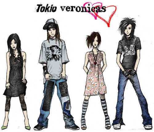 The Veronicas + Tokio Hotel