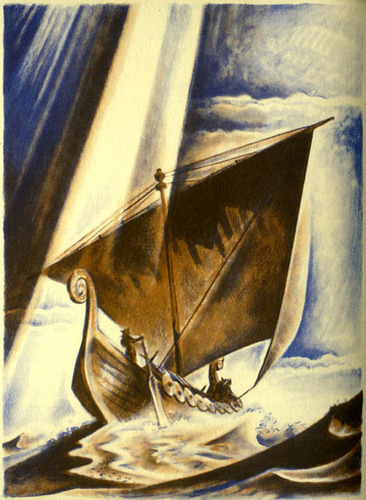 The Voyage to Denmark