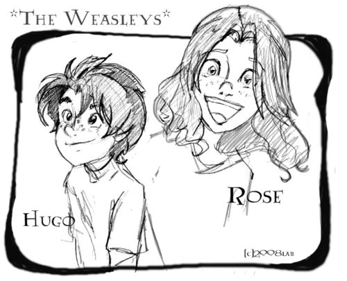 The Weasley Kids