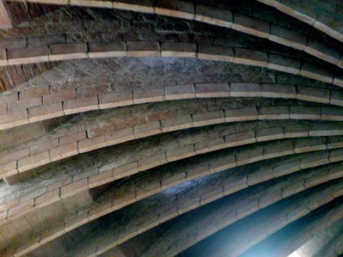 The attic of Casa Mila