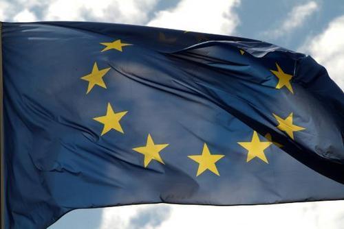 The european flag europe photo
