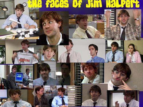 The faces of Jim Halpert