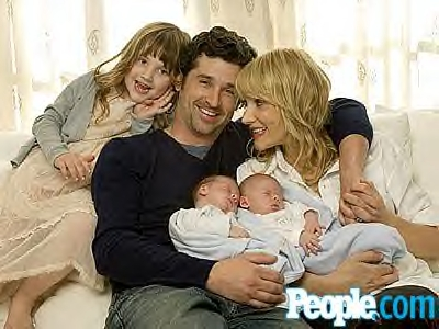 The patrick dempsey family