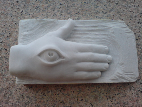 The hand that sees