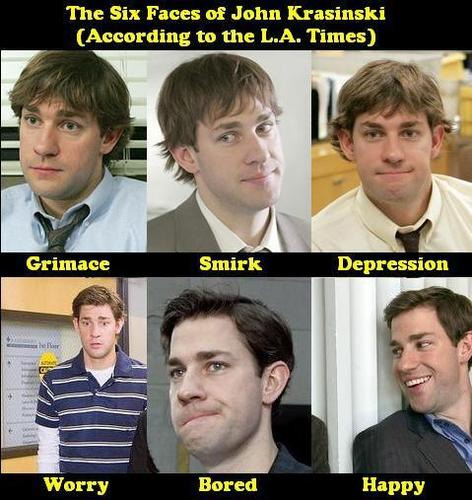 The six faces of Jim
