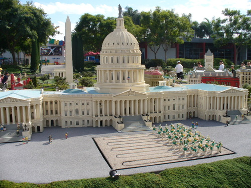 The white lego house