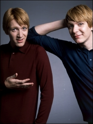 Them sexy Weasley Twins