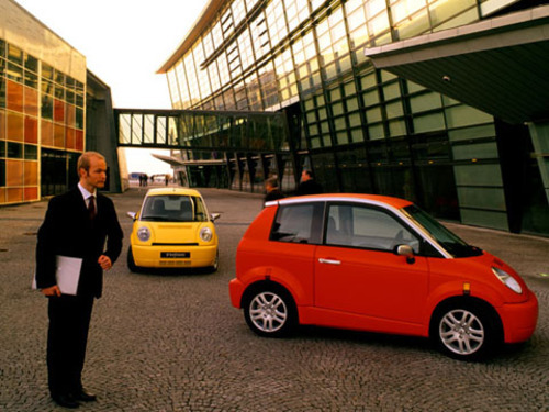 Think! City electric car