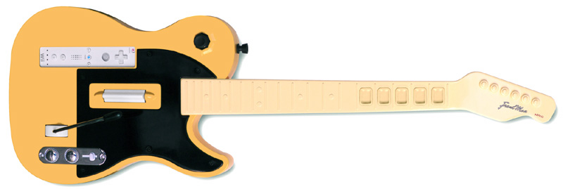 Third Party Wii Guitar 2011