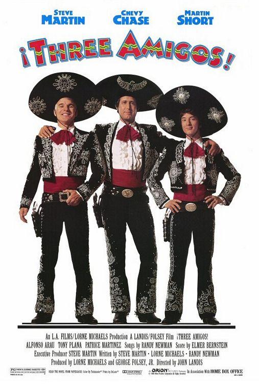 80s Films Three Amigos! (1986)