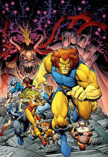 Thundercats Sourcebook Cover - thundercats Photo