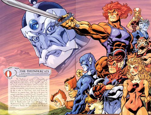 Thundercats wallpaper titled Thundercats Sourcebook Scan
