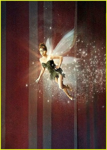 Tina Fey is tinkerbell