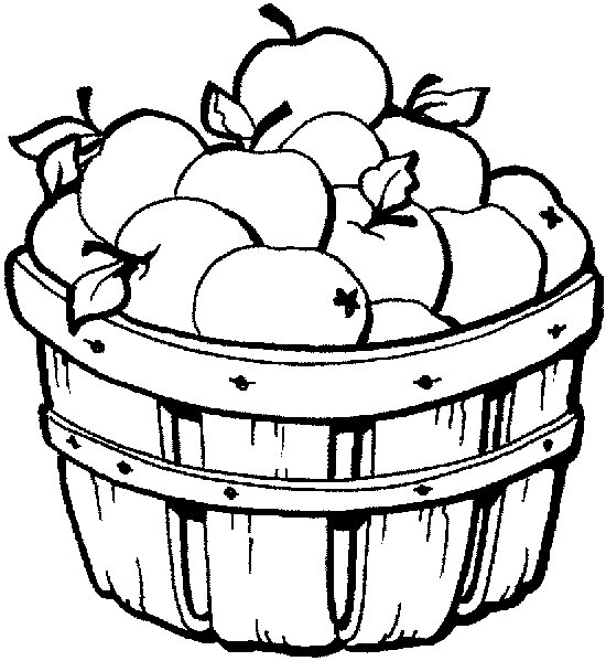 olivia apple orchard coloring pages - photo#35